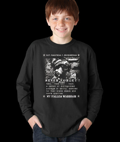 Jonathan Richardson Youth Long Sleeve