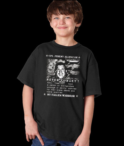 Jeremy Allbaugh Youth T-Shirt