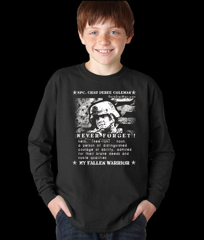 Chad Coleman Youth Long Sleeve