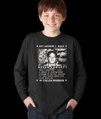 Andrew Hand Youth Long Sleeve