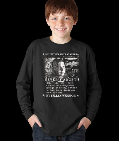 Mathew Gibbs Youth Long Sleeve