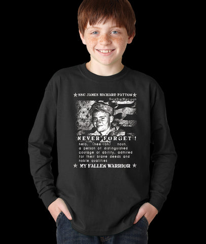 James Patton Youth Long Sleeve