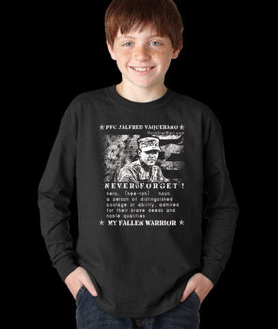 Jalfred Vaquerano Youth Long Sleeve