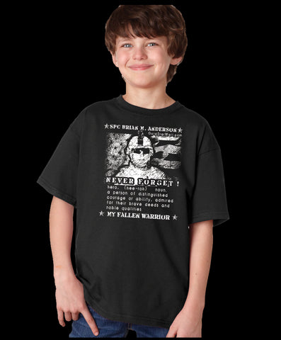 Brian Anderson Youth T-Shirt