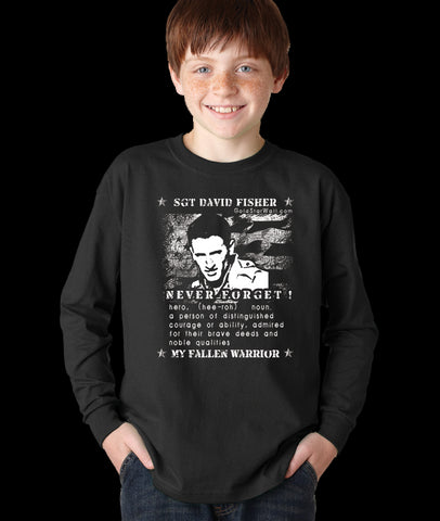 David Fisher Youth Long Sleeve
