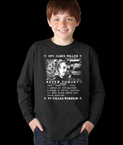 James Miller Youth Long Sleeve