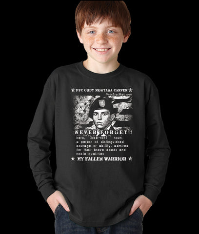 Cody Carver Youth Long Sleeve