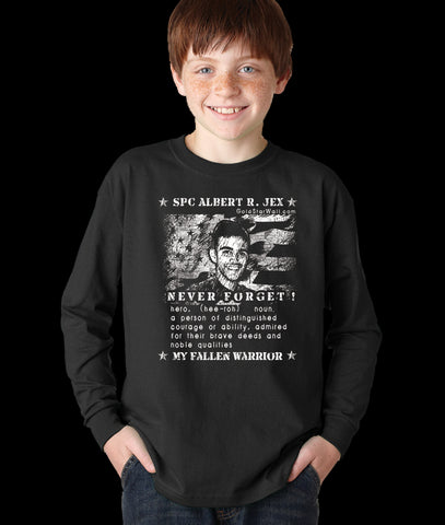 Albert Jex Youth Long Sleeve