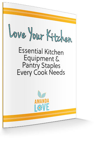 Kitchen Essentials Guide (Digital .PDF download)