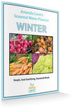 Winter Seasonal Menu Planner (Digital .PDF download)