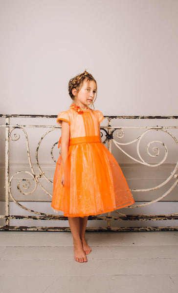 Orange Blossom Dress