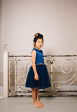 Blue Mystique Dress with Jewel Waist Dress