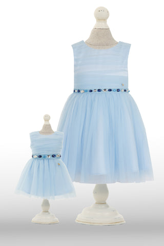 Dolly Dress: Blue Mystique