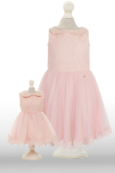 Dolly Dress: Pink Flamboyance