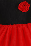 Dolly Dress Red Rose