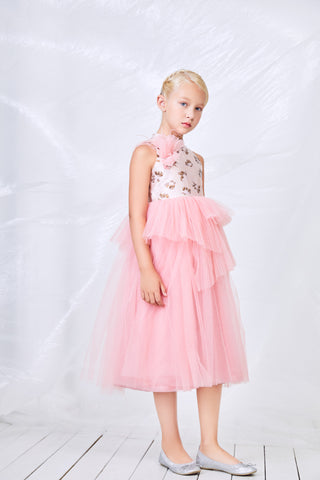 Pink Tuelle Princess Dress