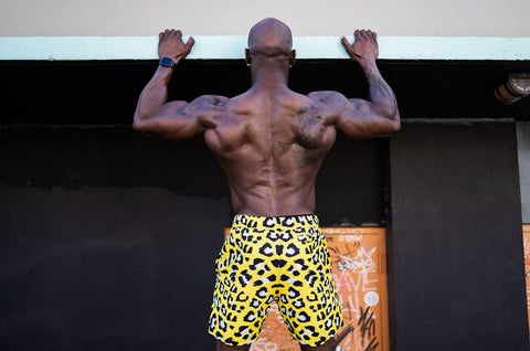 Neon Cheetah Shorties