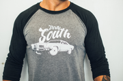Dirty South 3/4 sleeve raglan shirt - Chestee