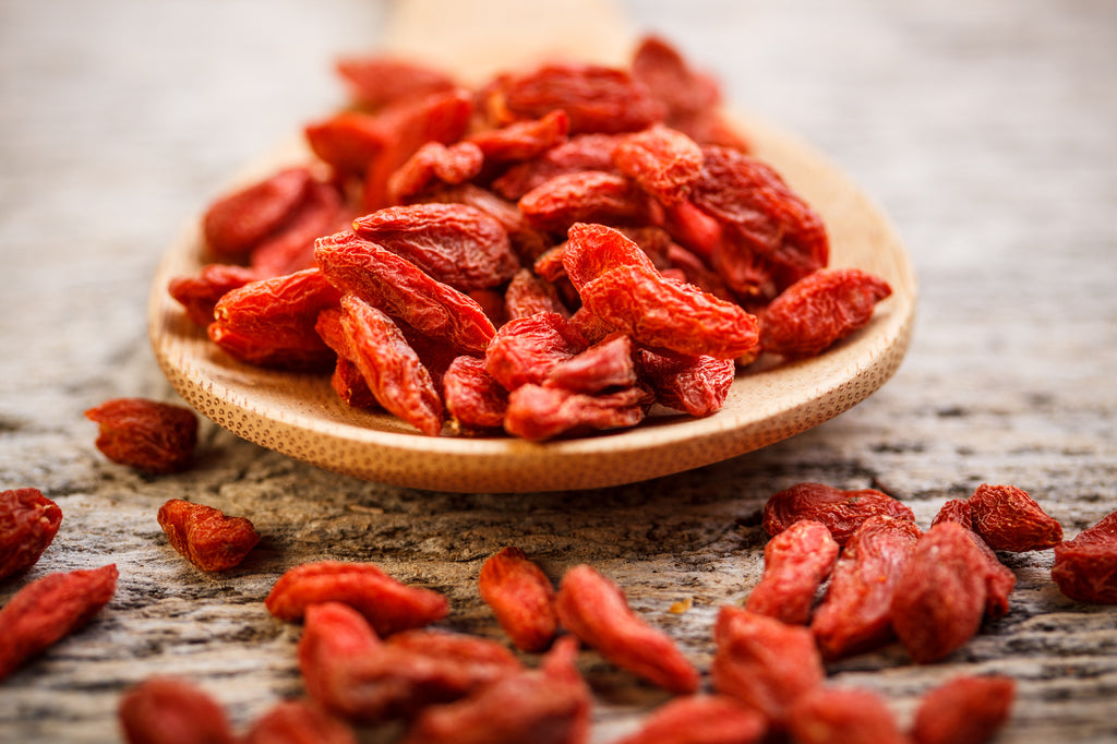 SO MANY WAYS TO EAT GOJI BERRIES!