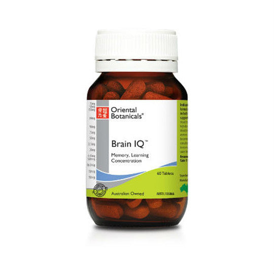 Oriental Botanicals Brain IQ 60 tablets