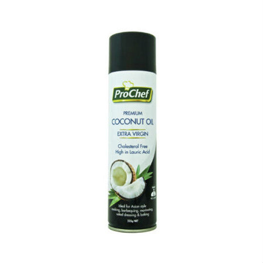 ProChef Premium Coconut Oil Cooking Spray 225g