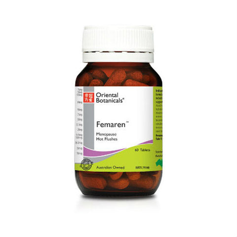 Oriental Botanicals Femaren 60 tablets