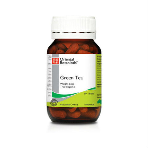 Oriental Botanicals Green Tea 50 tablets