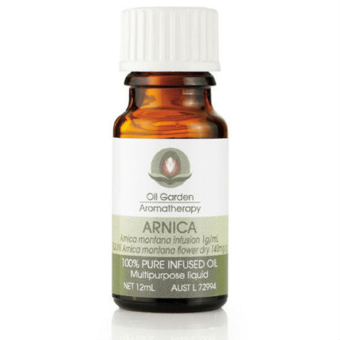 Oil Garden Aromatherapy Arnica 100% Pure Infused Oil 12ml