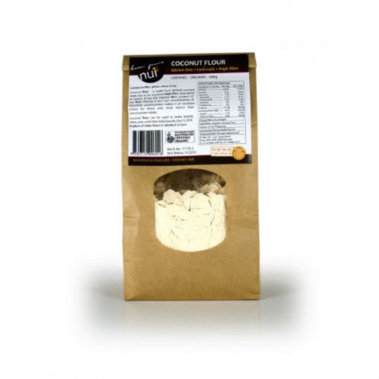 Nui Certified Organic Coconut Flour 500g