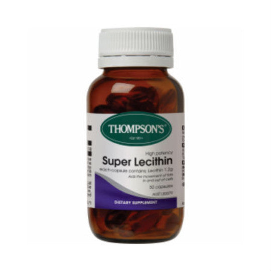 Thompson's Super Lecithin 120 capsules