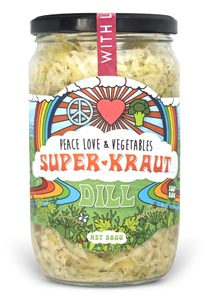 Peace Love and Vegetables Super Kraut Dill