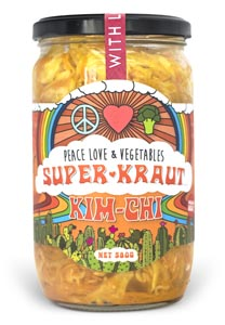 Peace Love and Vegetables Super Kraut Kimchi