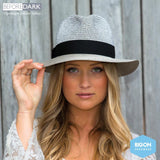HAT Unisex Contemporary Fedora Silver