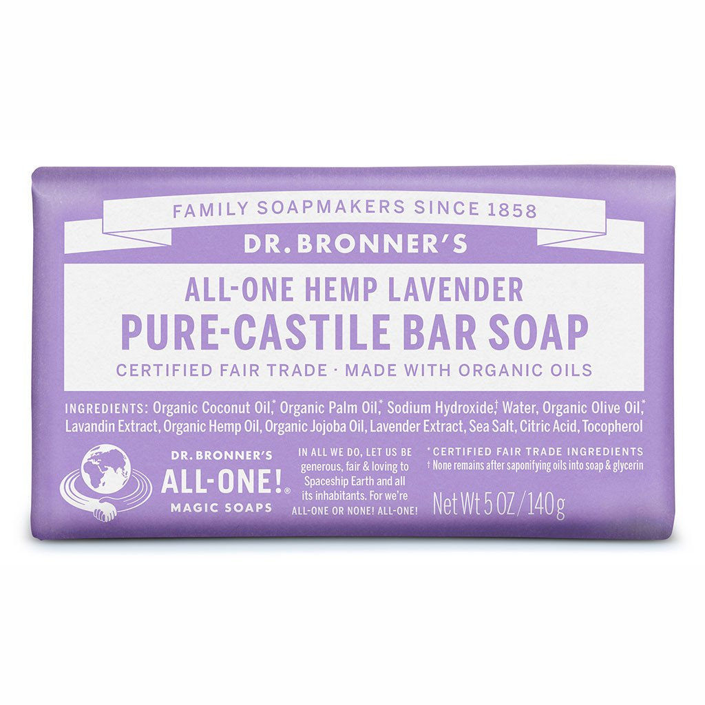 Dr Bronner - Soap bar lavender