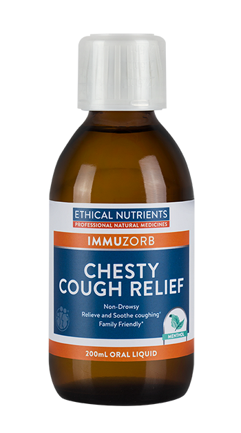 ETHICAL NUTRIENTS-Chesty Cough Relief 200mL