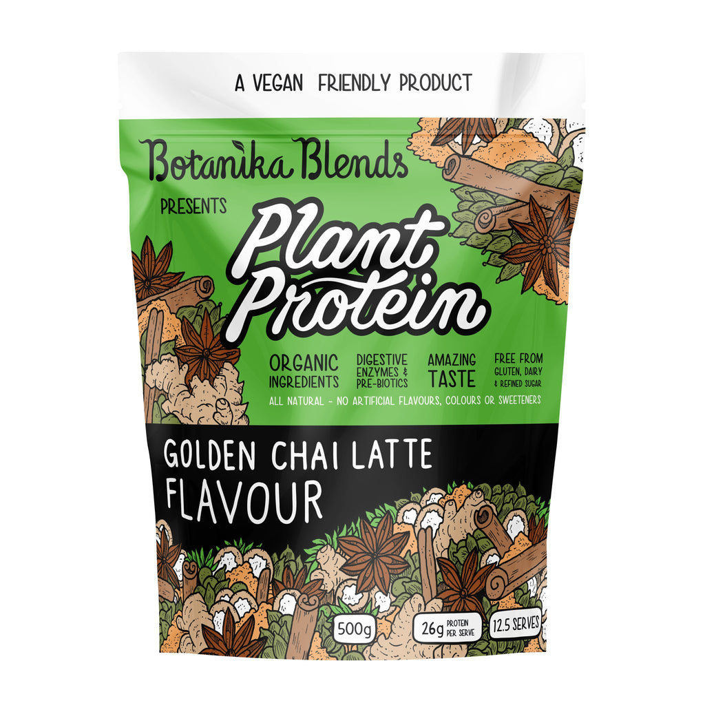 Botanika Blends Plant Protein  Chai Latte 500grams