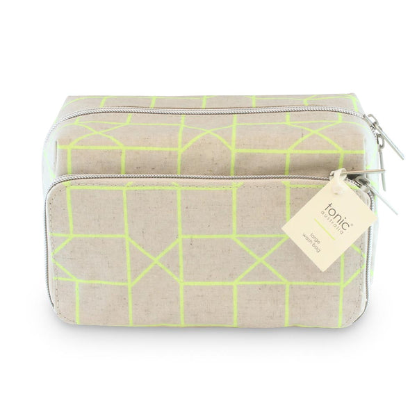 Medium Wash Bag Lime