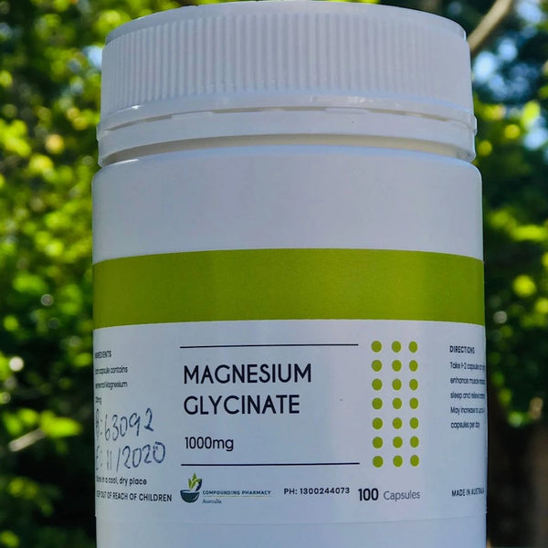 TCPA Magnesium Glycinate 1000 mg (100) Cap