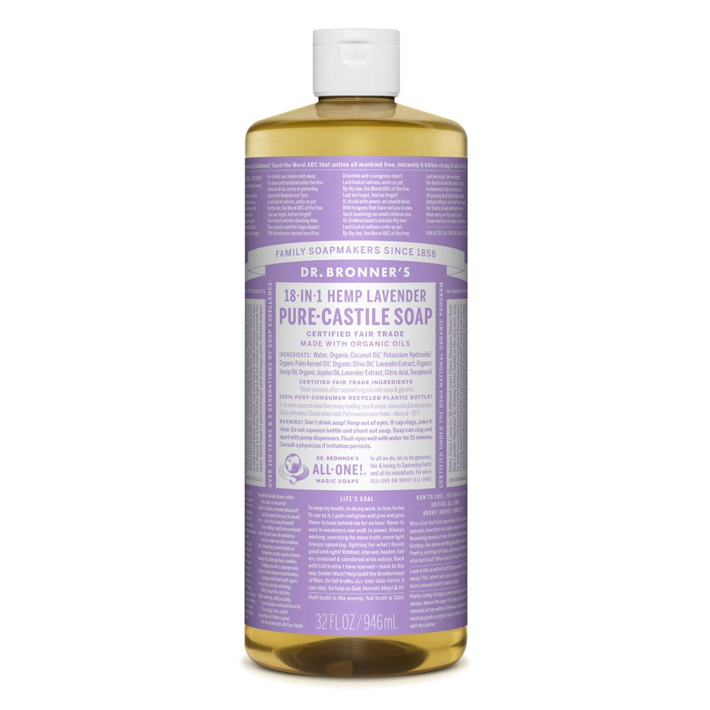 Dr Bronner - Liquid soap lavender 946ml
