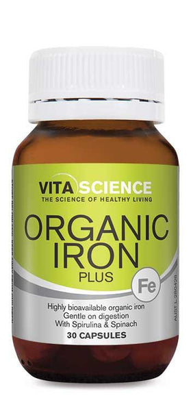 Vita Science Organic Iron 30