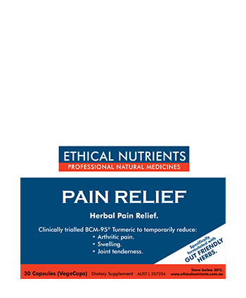 ETHICAL NUTRIENTS Pain Relief  Triple Strength 30 Tab