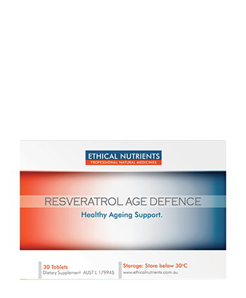 ETHICAL NUTRIENTS RESVERATROL AGE DEFENCE
