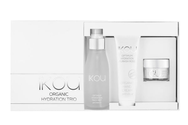 IKOU ORGANIC ESSENTIALS HYDRATION TRIO