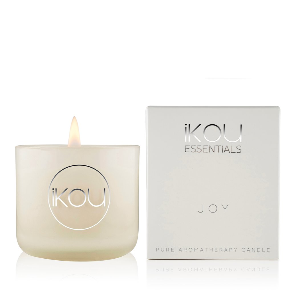IKOU ESSENTIALS SMALL CANDLE GLASS JOY