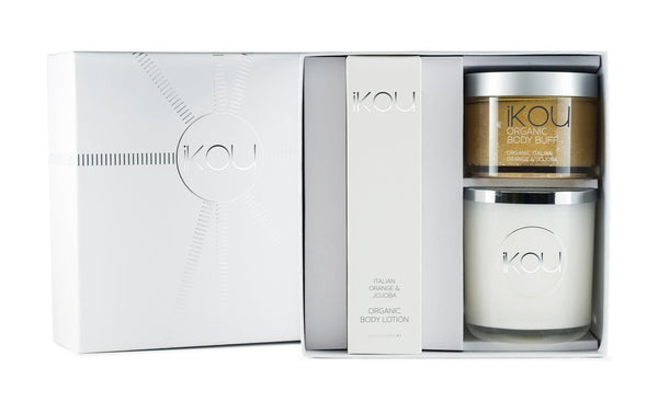 "IKOU ITALIAN ORANGE ""NURTURE"" GIFT BOX"