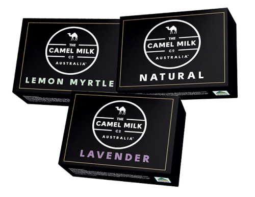Camel Soap Triple Milled Soap 100g- unscented