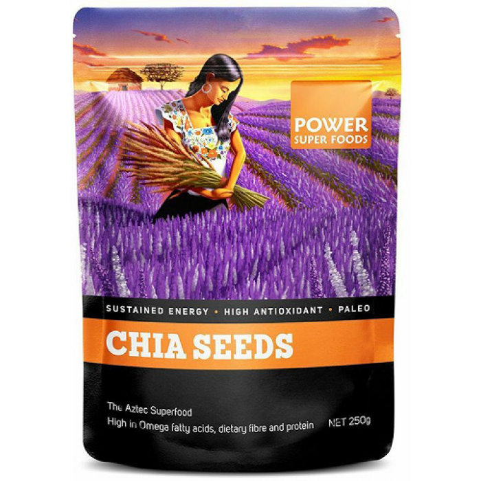 POWER SUPERFOODS Chia Seeds 500g