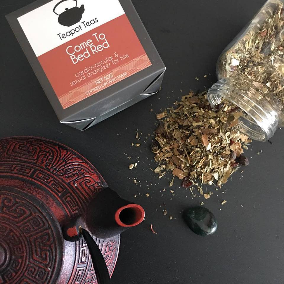 Teapot Teas: Come to Bed Red - cardiovascular and sexual energizer for men