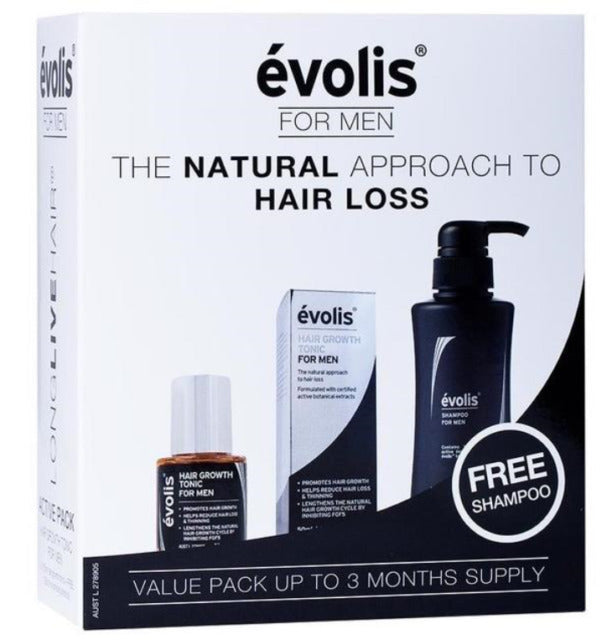 Evolis for men- Natural approach to hair loss