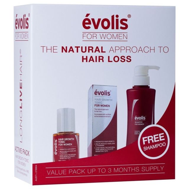 Evolis for women -  Natural Approach to hair loss